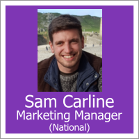 Sam Carline - Marketing Manager (National)