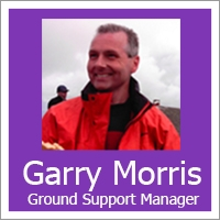Garry Morris - Ground Support Manager