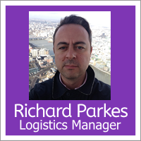 Richard Parkes-Logistics Manager