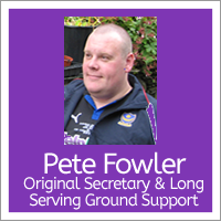 Pete Fowler - Honorary Trustee