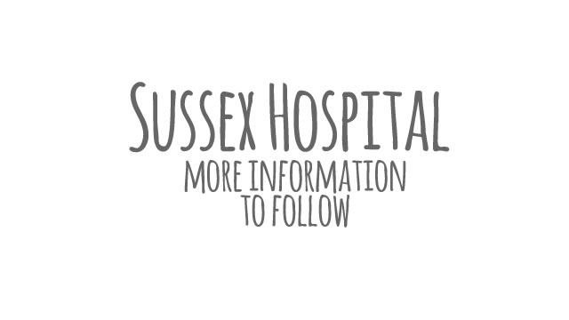 <h4>2014: Sussex Hospital</h4>